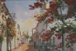 Calle ancha cuadro