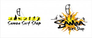 Samoa surf shop logo