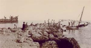 Muelle de piedras