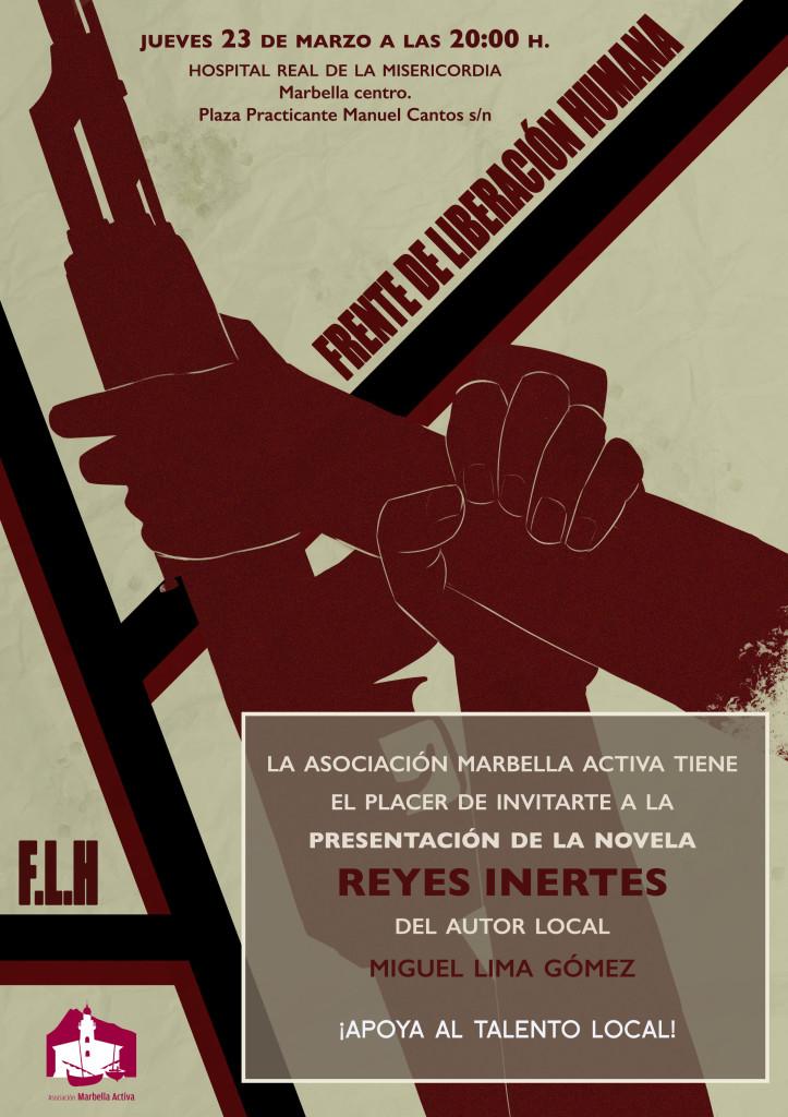 Cartel Evento Miguel Gomez